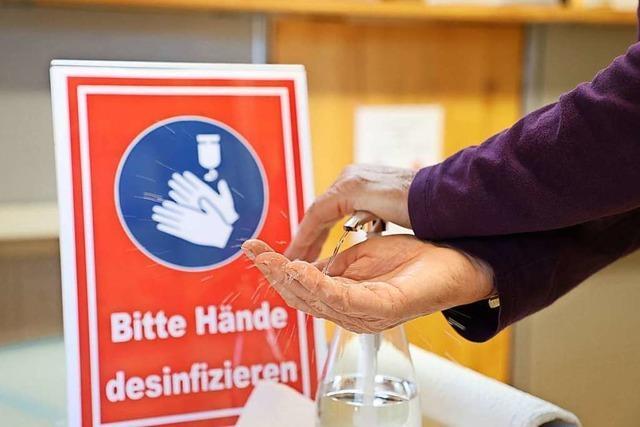 Experten: Händedesinfektion ist hilfreich – wenn auch nicht speziell gegen Corona