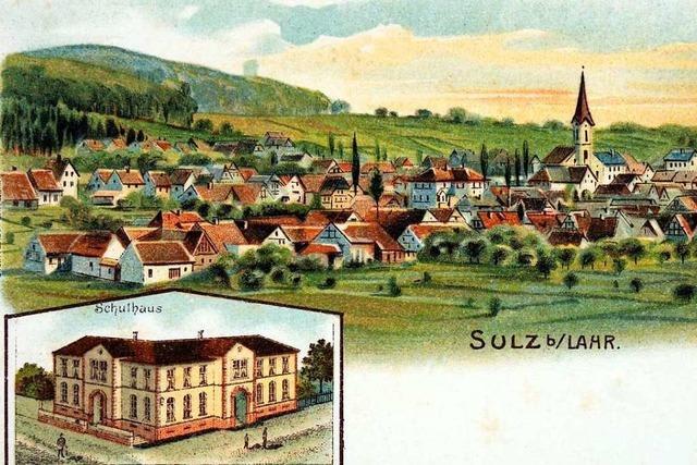Alte Ansichtskarten zeigen wie Sulz früher aussah