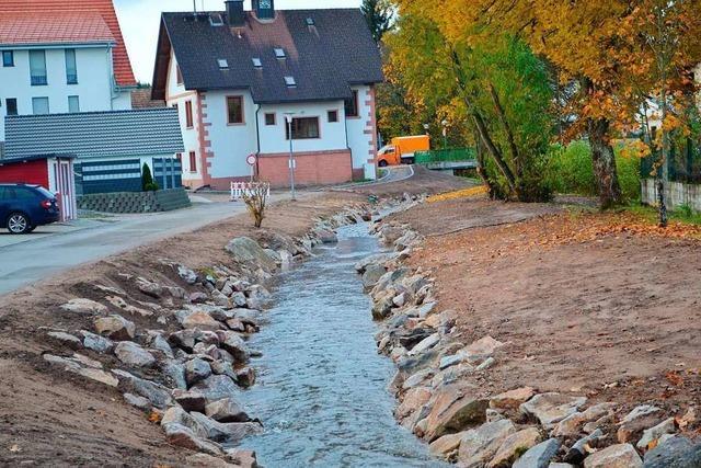Angst vor stärkerem Hochwasser beim Rötenbach