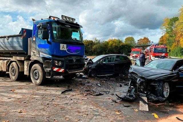 Schwerer Verkehrsunfall auf der L134 bei Steinenstadt