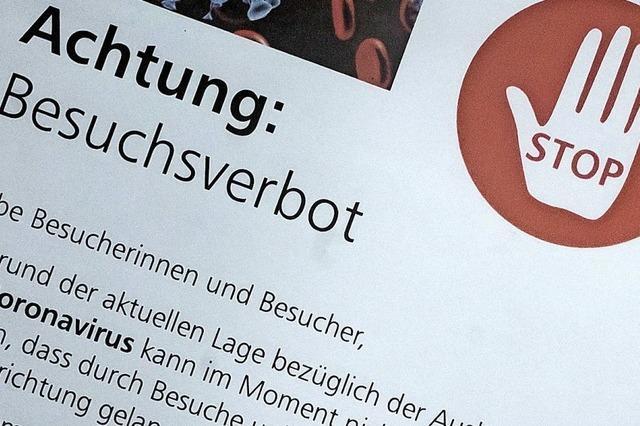 Im Klinikum Hochrhein gilt jetzt Besuchsverbot