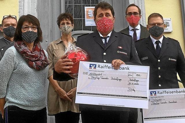 1000 Schutzmasken für einen guten Zweck genäht
