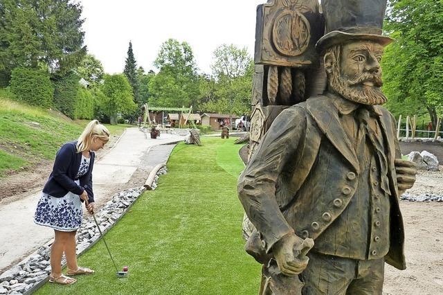 Im Bogen um den Abenteuer-Golfpark