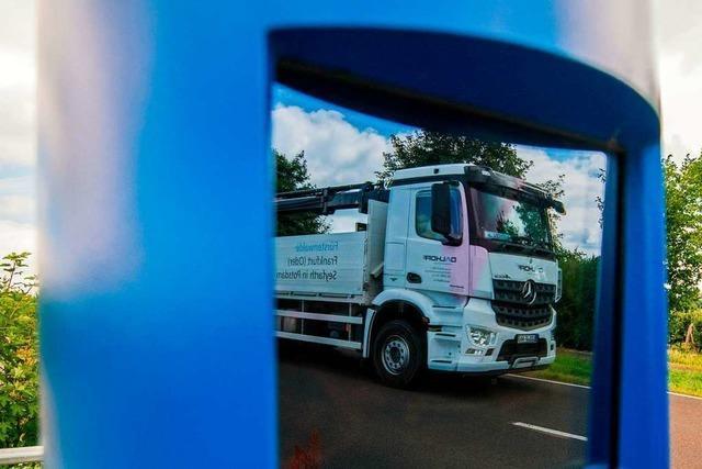 Deutschland berechnet die Lkw-Maut falsch