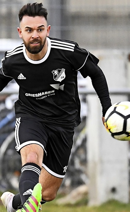 92 Tore in 94 Landesliga-Spielen: Sand...ählt zu den Top-Torjägern in Südbaden.  | Foto: Achim Keller