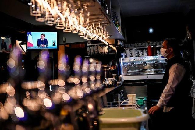 Macron: Neuer Lockdown in Frankreich ab Freitag