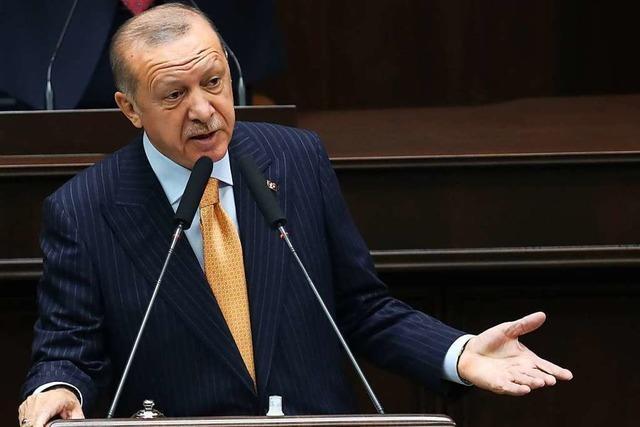 Erdogan in Bedrängnis