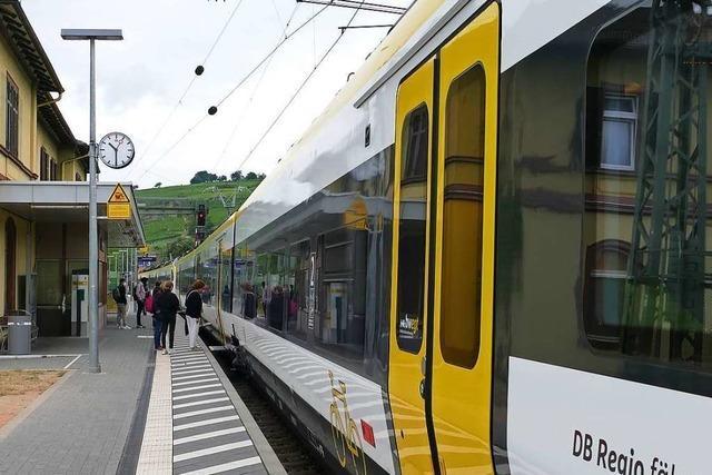 Efringen-Kirchens Bürgermeister fordert einen verlässlichen Takt auf der Rheintalbahn