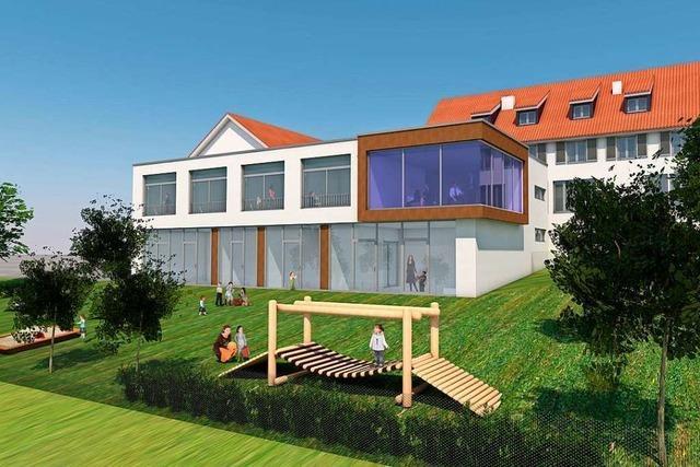 Hüsinger Kindergarten wird für knapp drei Millionen Euro saniert