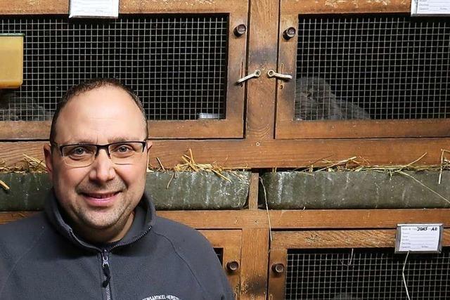 Sven Jöhle ist Europameister bei den Kaninchenzüchtern