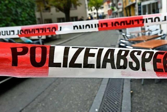 Räuberische Erpressung mit Bombenattrappe in Freiburg