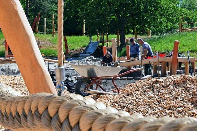 Der Dietenbach-Spielplatz wird runderneuert
