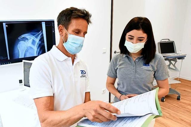 Eine Freiburger Facharztpraxis leidet unter der Pandemie – und fürchtet um ihre Investitionen