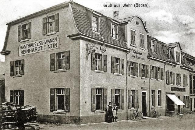 Adel prägte das erste Wehrer Gasthaus