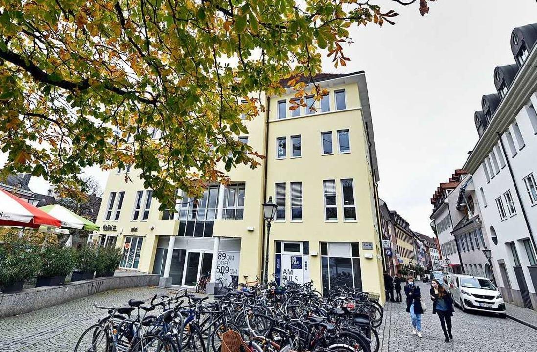 In der Grünwälderstraße macht ein neue...iehen – das gefällt nicht allen.  | Foto: Michael Bamberger