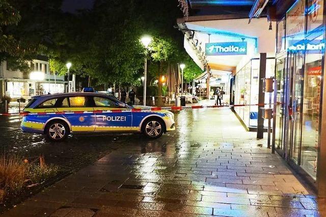 Messerattacke auf Polizisten in Weil – 32-Jähriger kommt in die Psychiatrie