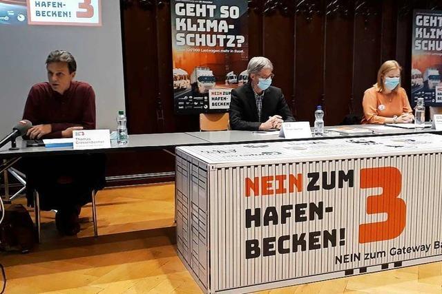 Die Gegner eines neuen Hafenbeckens für Basel machen mobil