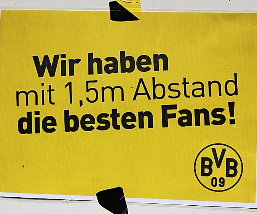 Auch dieser gute und aktuelle Hinweis ...Fußballcamp im Elztalstadion zu sehen.  | Foto: Bernd Fackler