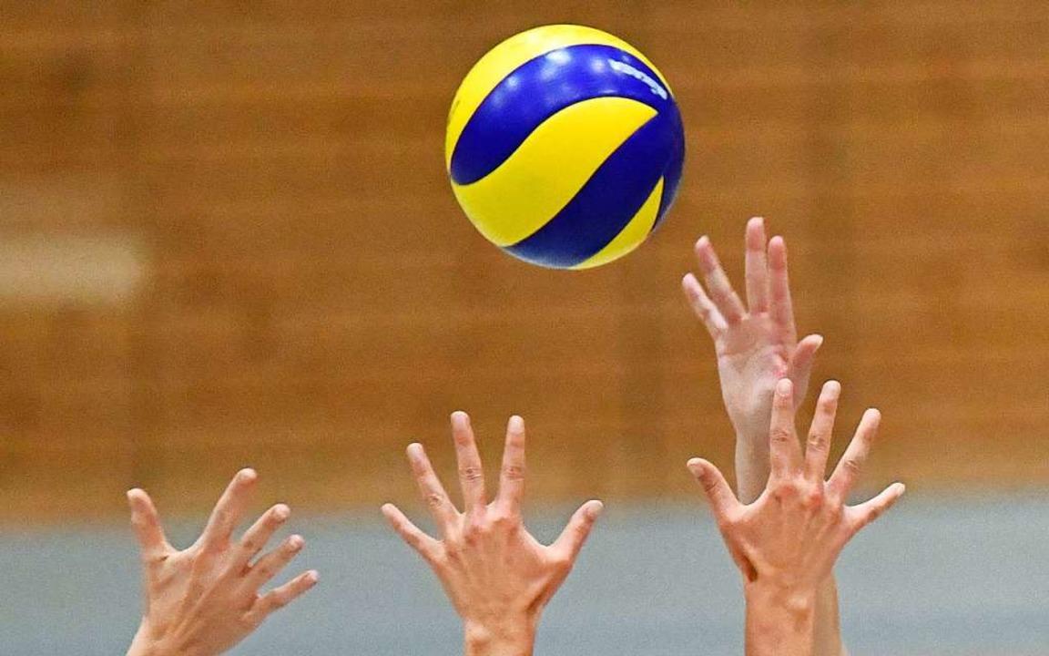 Die Weiler Volleyballer hatten ohnehin...r Verbandsliga-Partien  sind abgesagt.  | Foto: Achim Keller