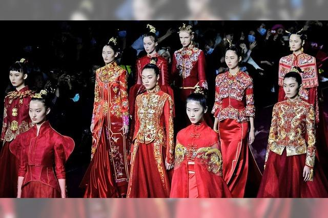 Fashion Week in China mit einer Mischung aus Tradition und Moderne
