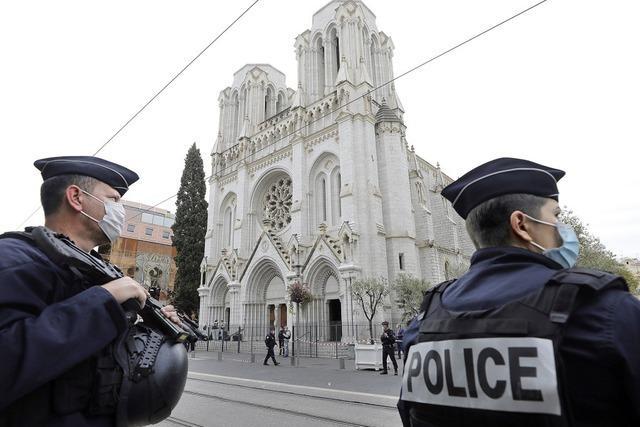 Drei Tote bei Messerangriff in Nizza