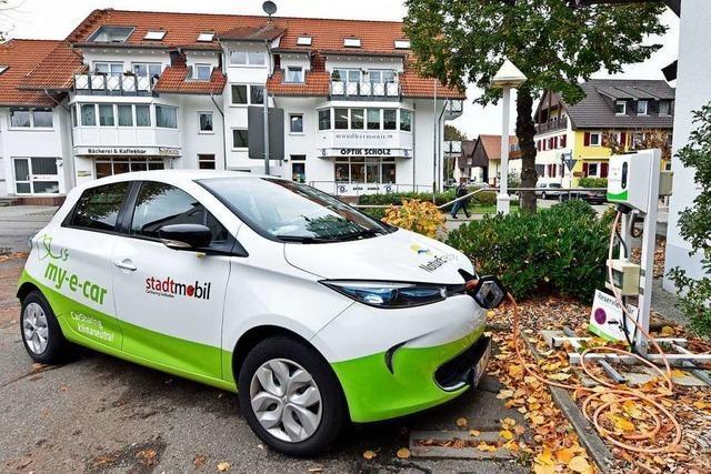 Carsharing ist in Freiburg ein Erfolg – außer dort, wo es ländlich wird