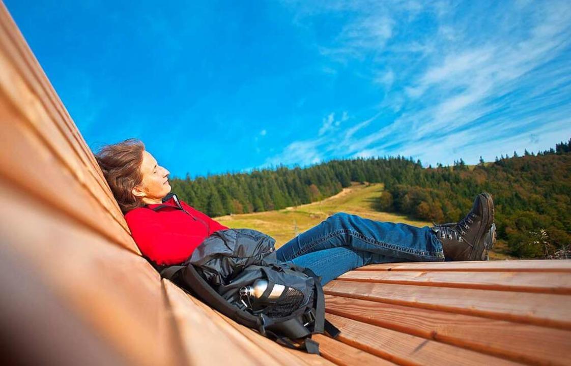 Himmlisch: Liegend die Landschaft genießen  | Foto: Birgit-Cathrin Duval, Birgit-Cathrin Duval