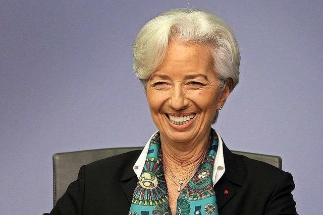 Christine Lagarde führt die EZB mit Charme und Offenheit