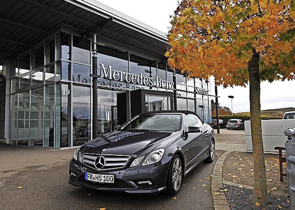 Jetzt auch am Kaiserstuhl: Santo mit Mercedes-Benz    Foto: Claudia Kleinhans