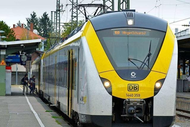 Ab Dezember soll ein anderer Fahrplan auf der Breisgau-S-Bahn alles besser machen