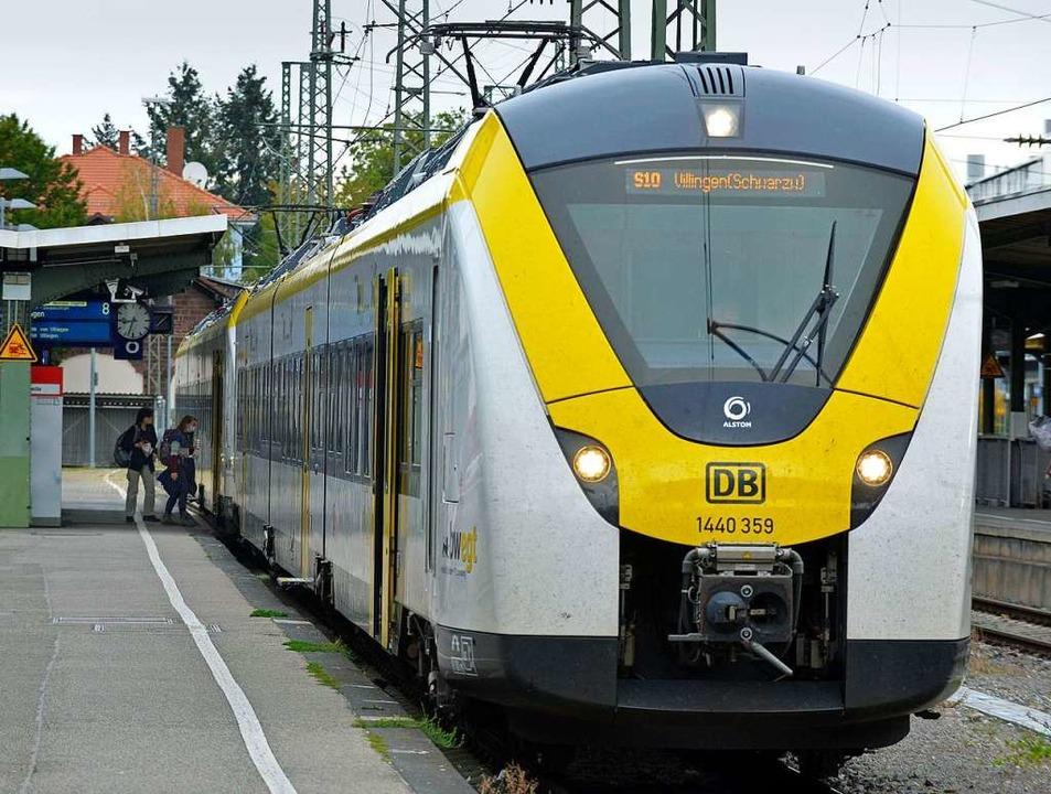 Bei der Breisgau-S-Bahn soll ab Dezember alles besser werden.  | Foto: Michael Bamberger