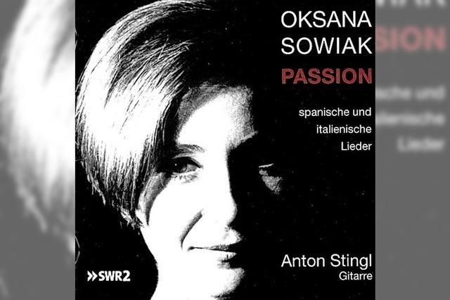 CD: KLASSIK: Südliche Lied-Leidenschaft