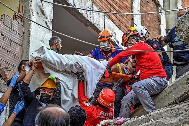 Schweres Erdbeben in der Türkei