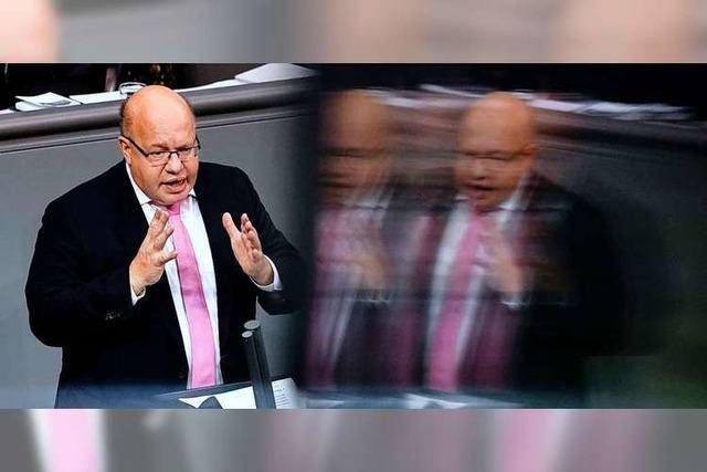 Altmaiers Optimismus: Zuversicht von Amts wegen
