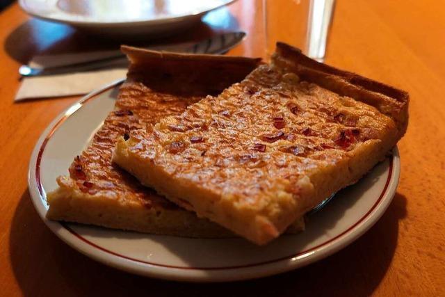 Zwiebelkuchen im Zähringer Hof: Köstlichkeit mit ungeschriebenem Rezept