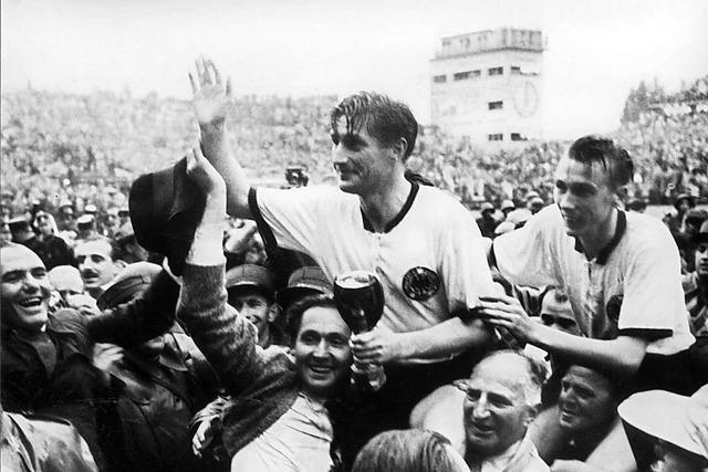 Ein Brief an den Fußballweltmeister von 1954, Fritz Walter, zum 100. Geburtstag