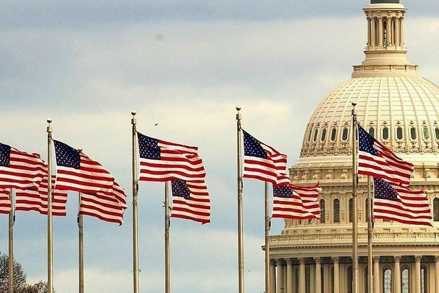 In den USA finden am Dienstag auch Kongresswahlen statt