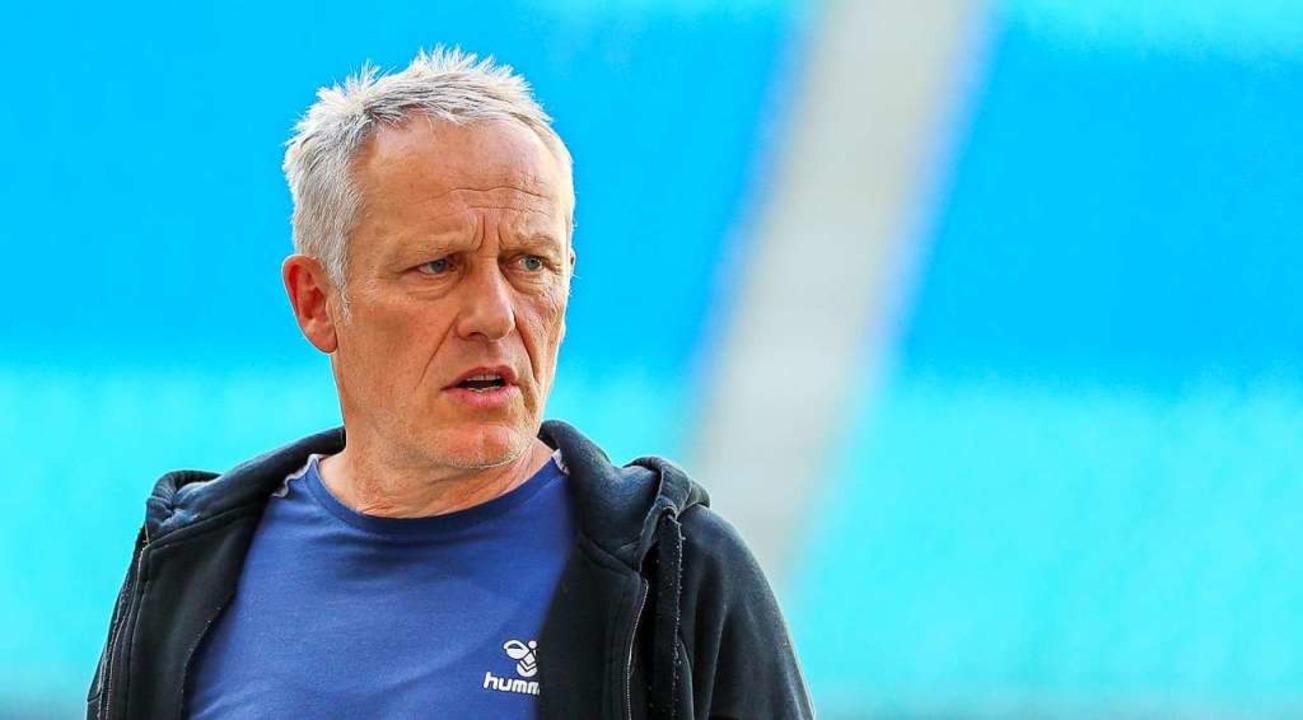 SC-Trainer Christian Streich    Foto: Jan Woitas (dpa)