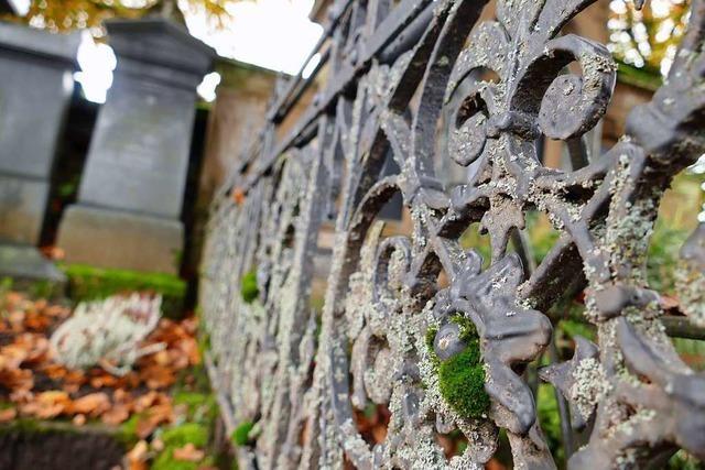 Grabstätten in Schopfheim zeigen die Vergänglichkeit der Zeit