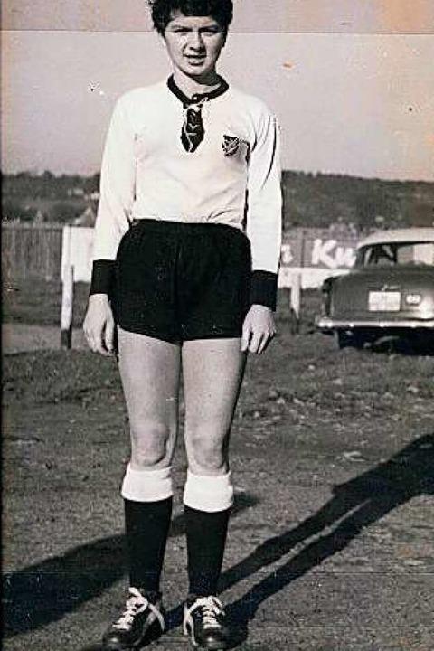 Christa Kleinhans in den 50er-Jahren.  | Foto: bz