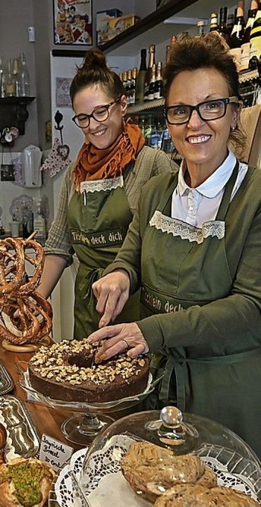 Monika Großmann und ihre Tochter Nicola Hipp  | Foto: Stephan Elsemann