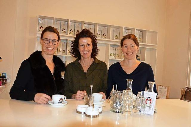 Kaffeepause bei Schwarzwild!
