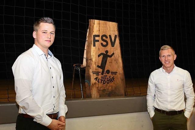 Der FSV Altdorf hat eine neue Doppelspitze