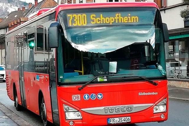 Ab Montag fahren im Kreis Lörrach zusätzliche Busse im Schülerverkehr