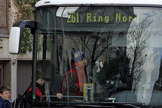 Zusätzliche Busse für den Schulverkehr
