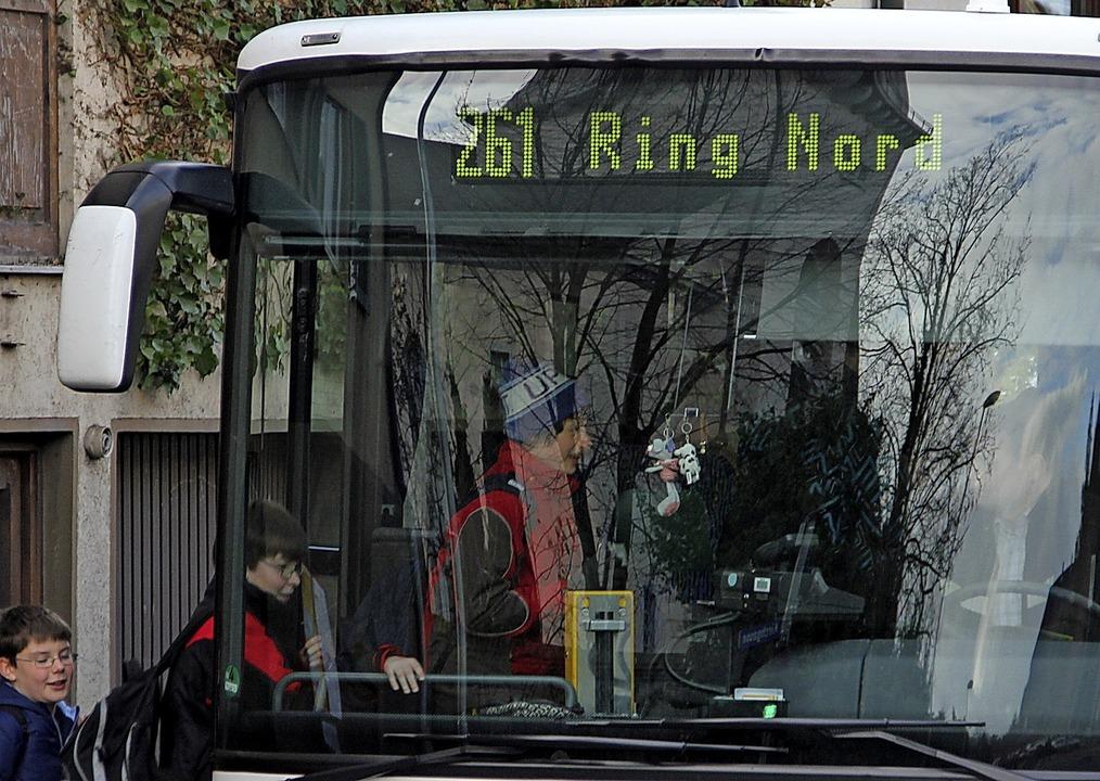 Enge in Schulbussen soll nicht vorkommen.   | Foto: Sabine Model