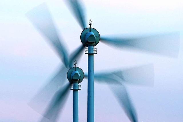 Am Rotzeleck in Biederbach drehen sich jetzt drei Windräder