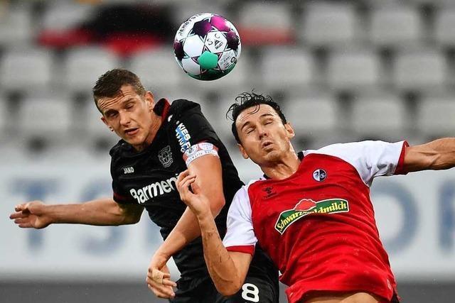 Gegen Leverkusen erwischt Nicolas Höfler einen rabenschwarzen Tag