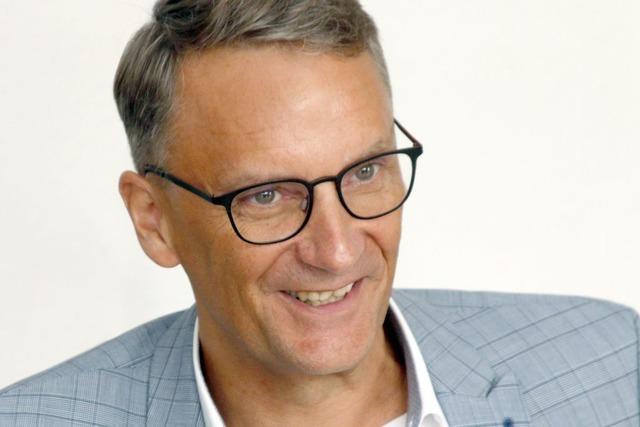 Markus Ibert ist ein Jahr OB von Lahr – eine erste Bilanz
