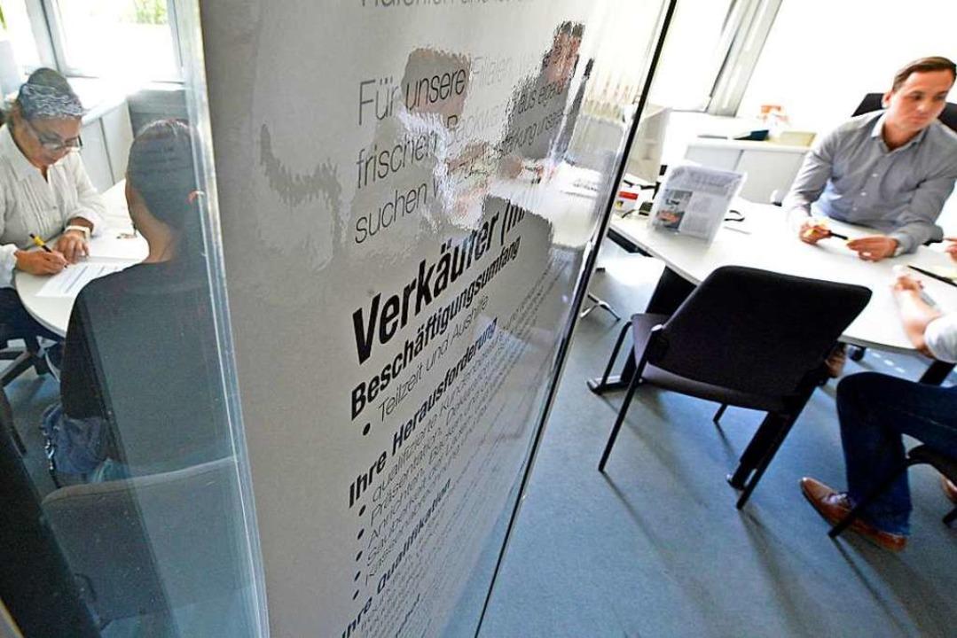 Die Arbeitslosigkeit ist im Oktober zurückgegangen. Symbolbild.  | Foto: Michael Bamberger